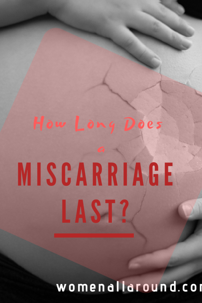 How long does a miscarriage last